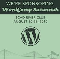I'm sponsoring WordCamp Savannah