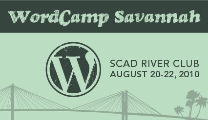 WordCamp Savannah banner