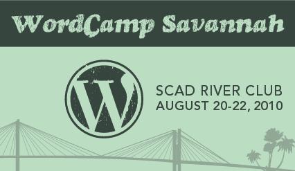 WordCamp Savannah banner
